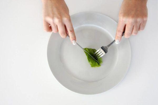 Anorexia y falta de vitaminas