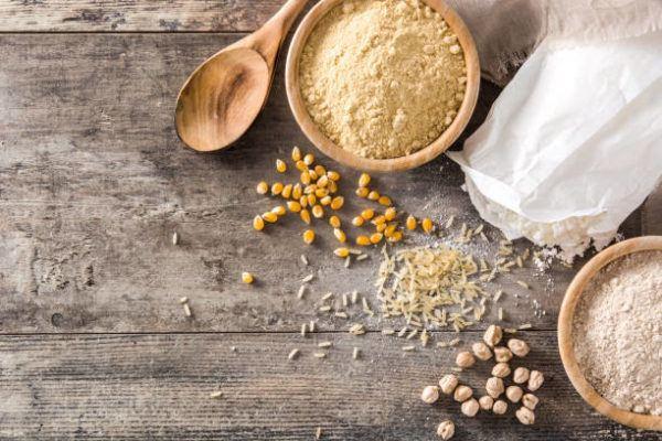 Mejores recetas caseras para tratar talones agrietados secos Harina de arroz