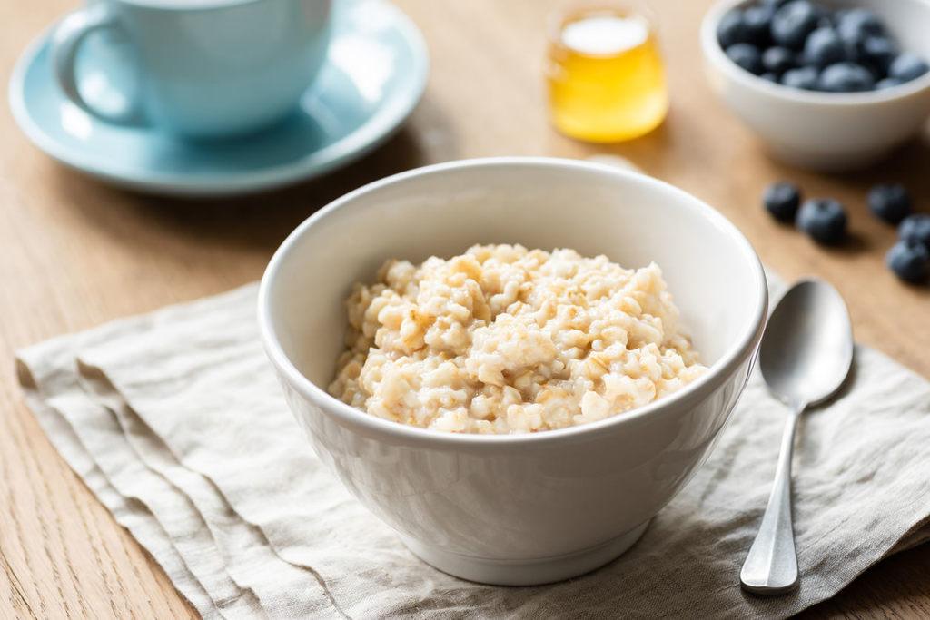 Cómo hacer porridge de avena