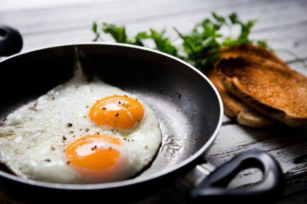 Colesterol y los huevos fritos