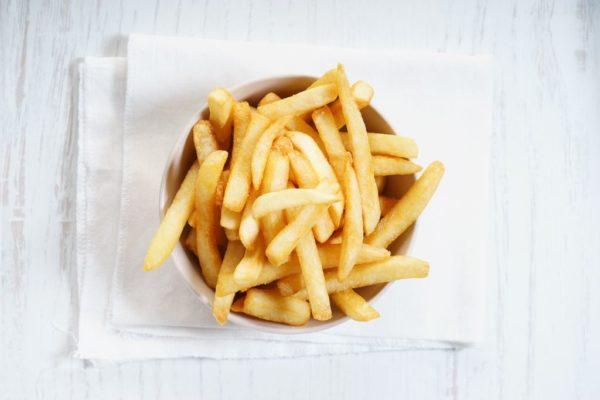 Patatas fritas más saludables