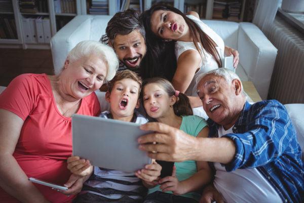 Ejercicios de memoria para la tercera edad familia