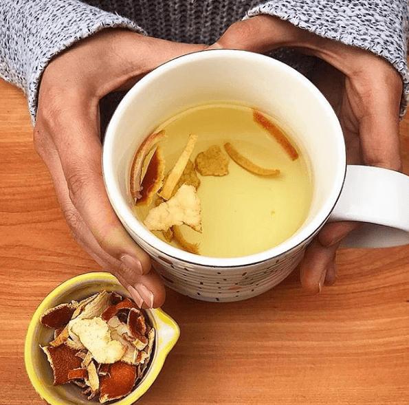 Trucos y remedios caseros para cortar la diarrea cáscara naranja